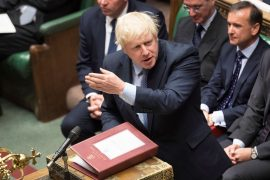 British lawmakers approve the Brexit deal