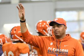 Clemson: Tony Elliott is out for the college football match against Ohio State