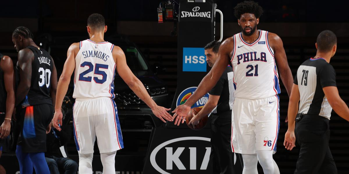 Feed Joel Embiid, Ben Simmons smother RG Barrett, and more after the Sixers beat the Knicks