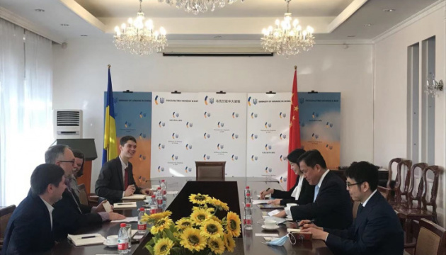 Україна та Китай планують активізувати регіональне співробітництво між столицями