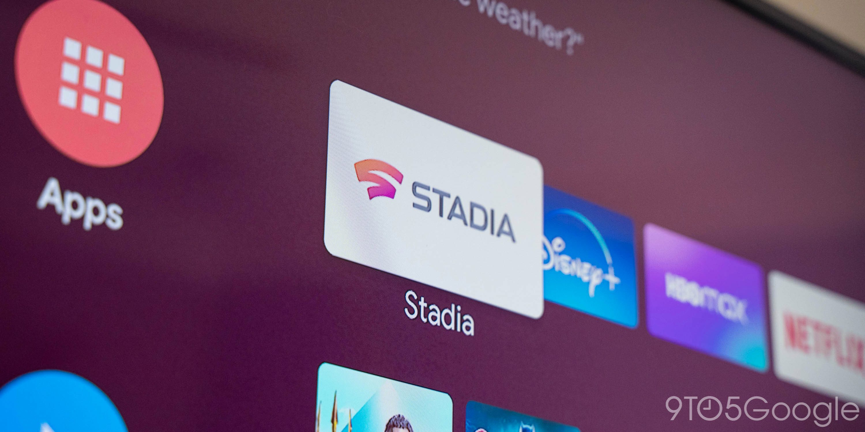 Google stadia android tv app