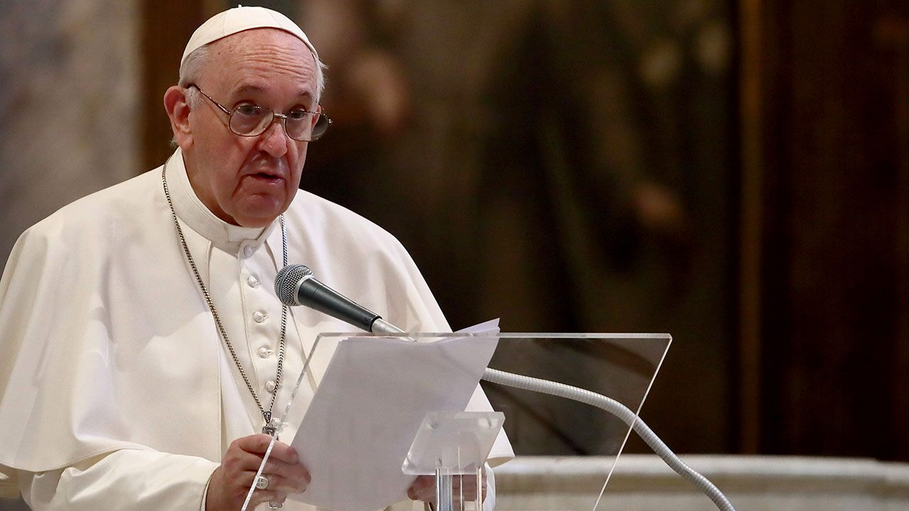 "Pope Francis is ""sad"" because people have gone ""on vacation"" to avoid lockdown"