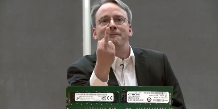 "Why don't computers use RAM correction errors?  ""Because Intel says"""