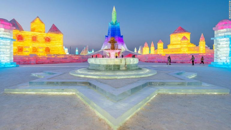 Harbin Snow and Ice Festival: Still open, events have been canceled due to the COVID-19 outbreak
