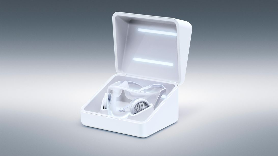 Razer-Project-Hazel-White-Mask-In-Box