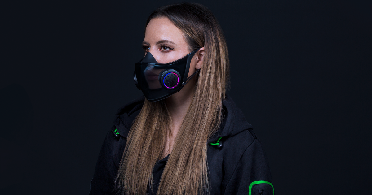 CES 2021: Razer's Project Hazel is a high-tech N95 mask for COVID-19 times that looks stylish, too