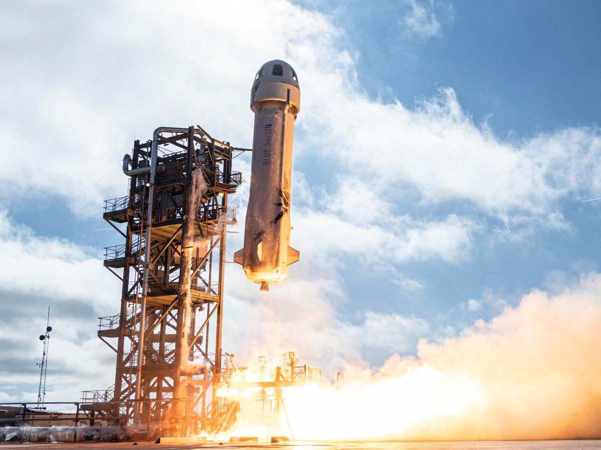 Blue Origin tests passenger accommodations at sub-orbital launch - Spaceflight Now