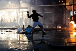 Belgium's protests over the death of a man in police custody resulted in more than 100 arrests