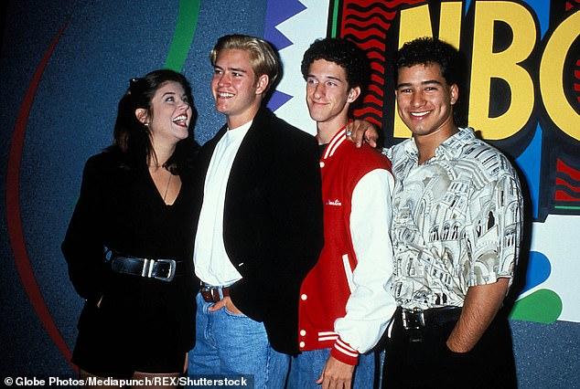 The Good Days: Thyssen, Gosselaar, Diamond and Lopez in 1996