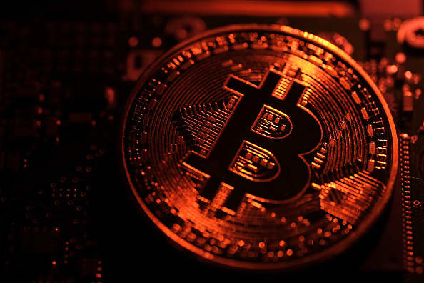 A Deutsche Bank survey says Bitcoin and US technology stocks are the biggest bubbles