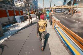 Cyberpunk 2077 gets third-person mod 'Working'