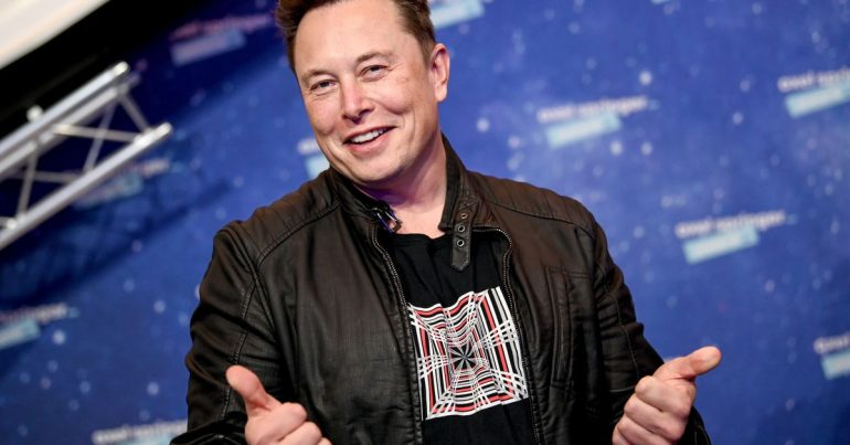 Elon Musk surpassed Jeff Bezos to become the richest person on earth