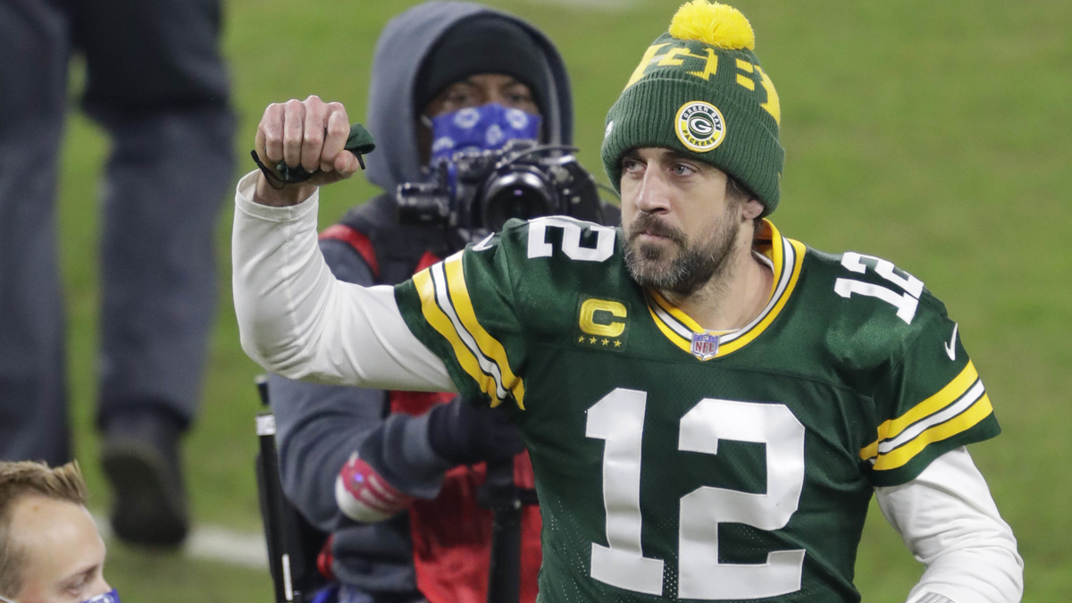 How does Aaron Rodgers feel about facing Tom Brady, Drew Price in the NFC Championship