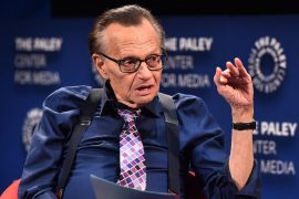 Larry King has been hospitalized due to Covid-19