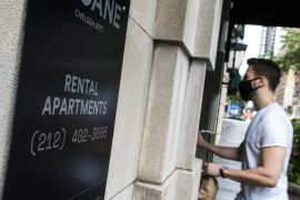 Manhattan apartment rents nearly doubled in December