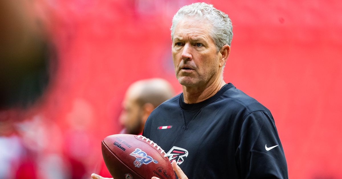 OC Dirk Koetter, OL coach Chris Morgan is among the plethora of Falcons coaches Arthur Smith has not kept