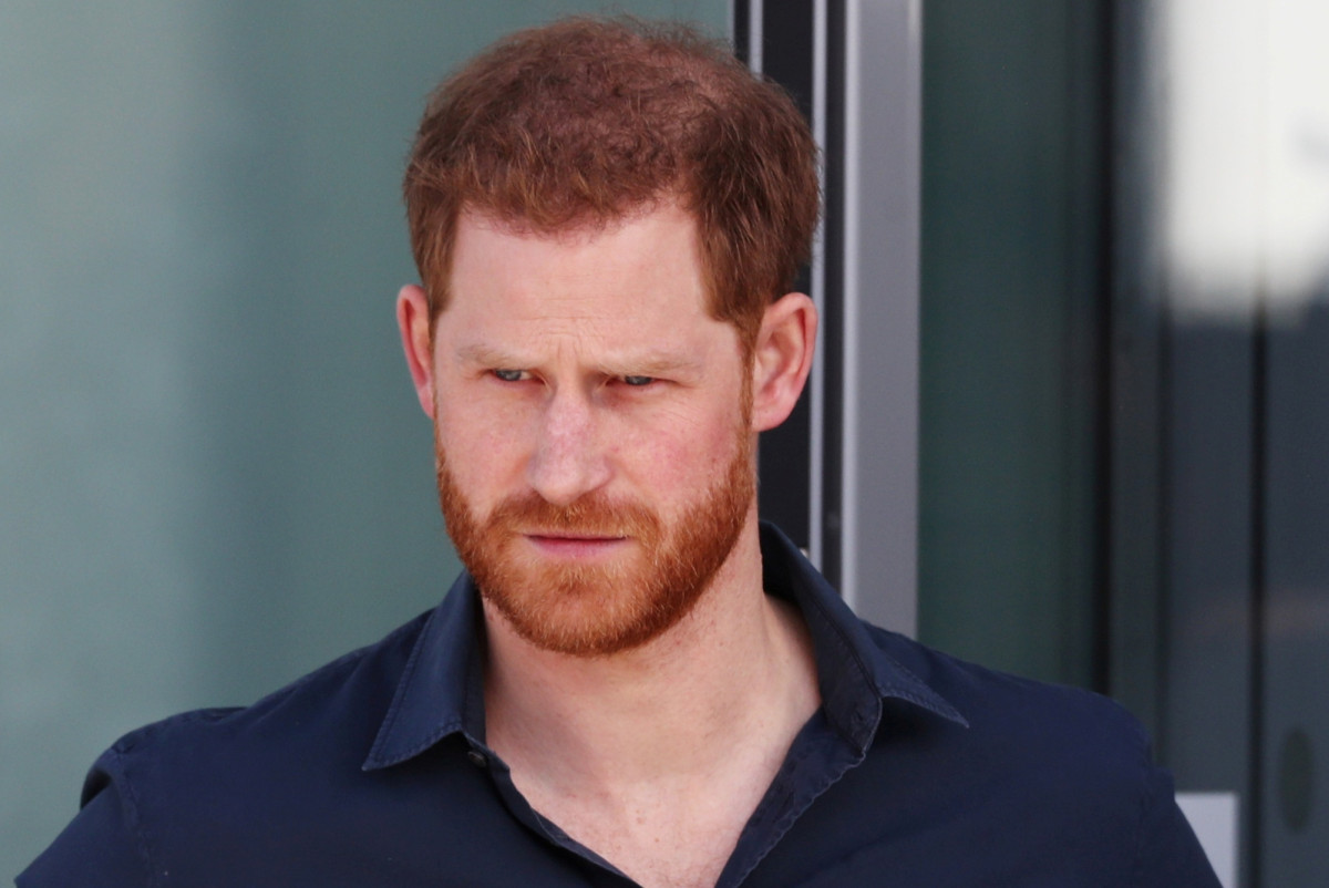 """Prince Harry is """"sad"""" by the royal family's tensions since the megast"""