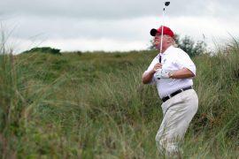 Scottish leader bans Trump from visiting Turnberry golf resort
