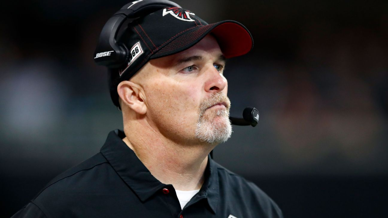 Sources say former Atlanta Falcons coach Dan Quinn is the favorite to be the Dallas Cowboys DC