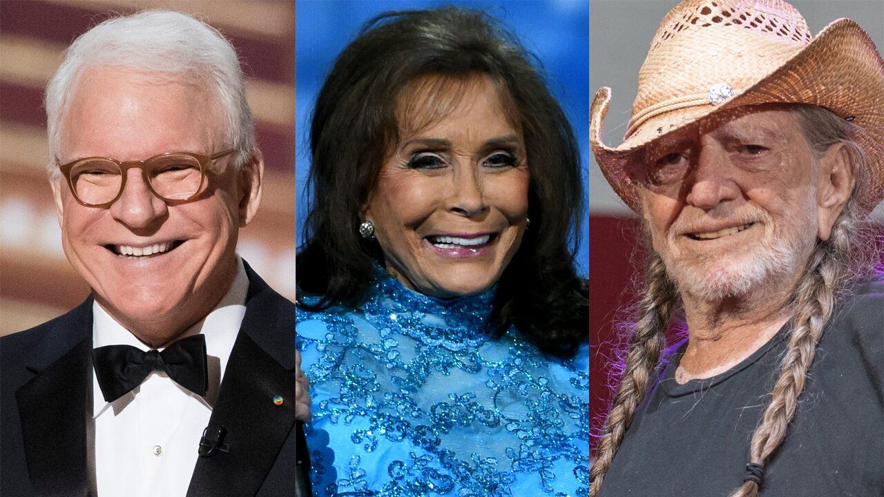 Steve Martin, Willie Nelson and Loretta Lynn Receive Coronavirus Vaccine: 'I'm Sure Happy'