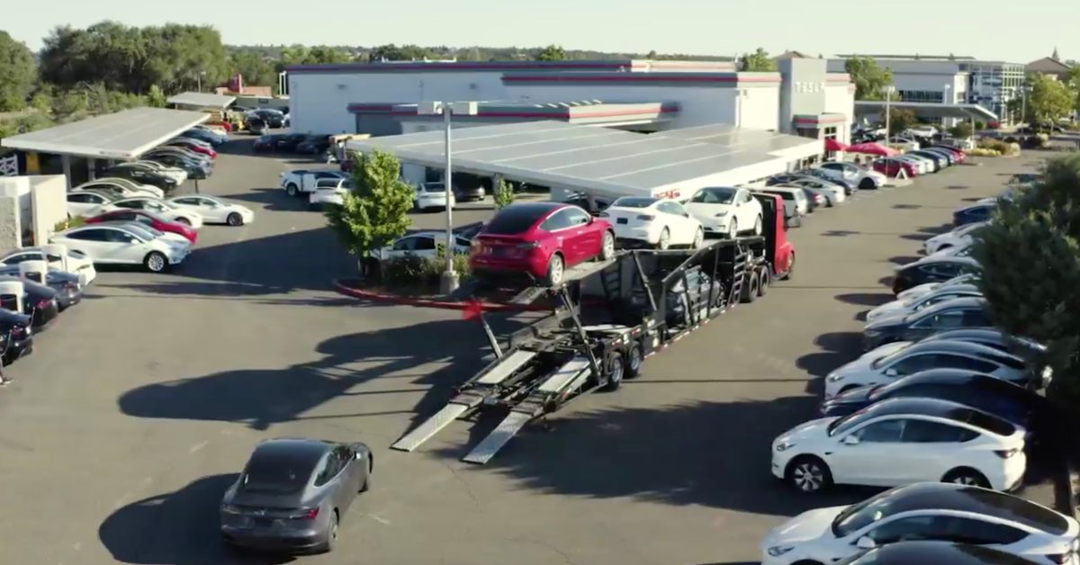 Tesla (TSLA) achieves record 180,000 cars in the fourth quarter, barely surpassing 500,000 car target in 2020