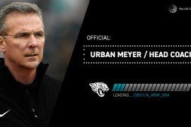 Urban Mayer has been appointed Jaguar's head coach
