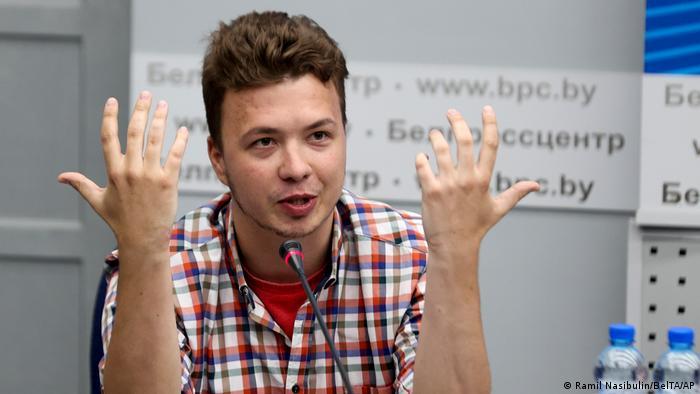Після арешту білоруський журналіст-дисидент, засланий Раман Праташевич