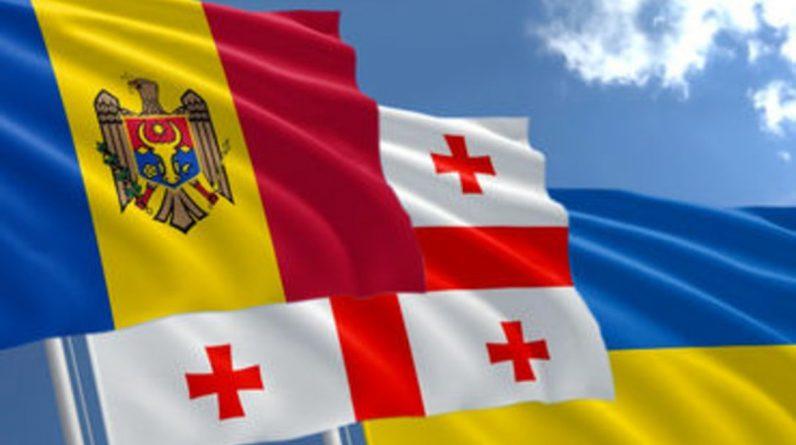 Україна, Грузія та Молдова тристоронні Асошиейтед прес сподівається посилити співпрацю з Європейським Союзом у спільній заяві про безпеку, оборону та міністерство закордонних справ