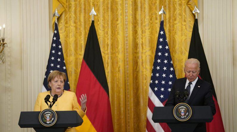 Недавній візит Ангели Меркель до США в якості канцлера Німеччини